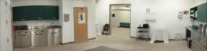 Equine exam room