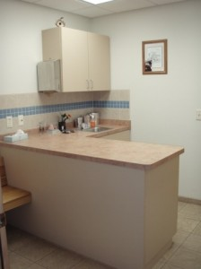 Exam room for small dogs/cats or exotics